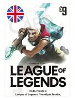 League of Legends 9 GBP (UK)