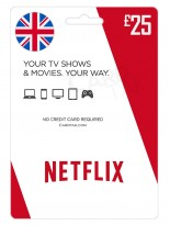 Netflix 25 GBP United Kingdom