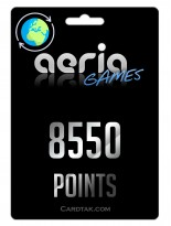 Aeria Games 8550 Points United States