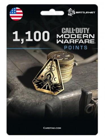 COD MW 1100 Points (Battle.net/US)