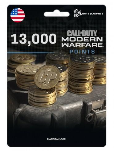 COD MW 13K Points (Battle.net/US)