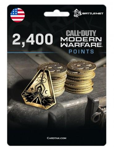 COD MW 2400 Points (Battle.net/US)