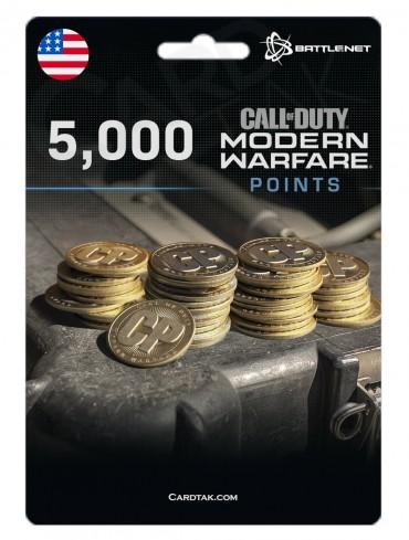 COD MW 5000 Points (Battle.net/US)