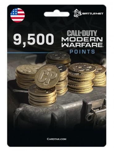 COD MW 9500 Points (Battle.net/US)