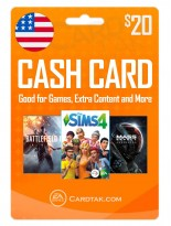 EA Origin Cash Card 20 USD United States