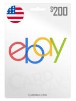 eBay 200 USD United States