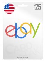 eBay 25 USD United States