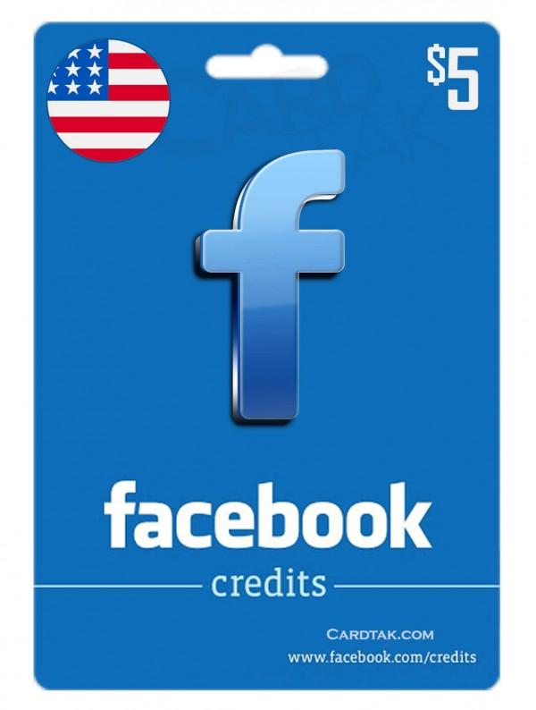 فیس بوک 5 دلاری آمریکا (US)
