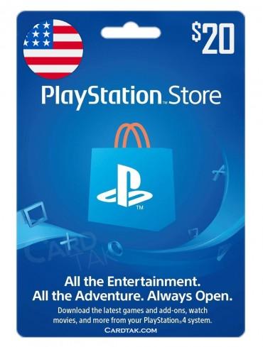PlayStation 20 USD United States