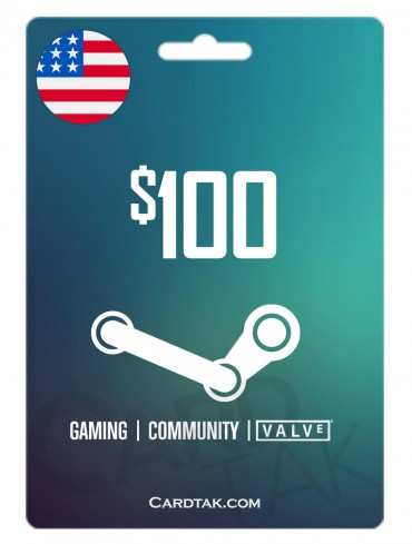 Steam 100 USD United States