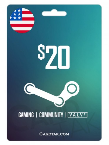 Steam 20 USD United States