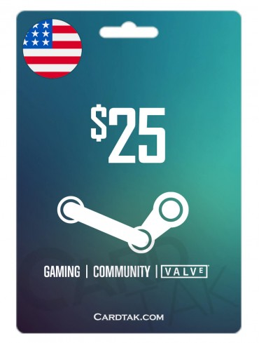 Steam 25 USD United States