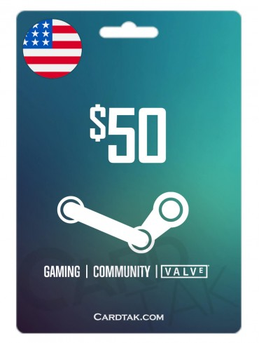 Steam 50 USD United States