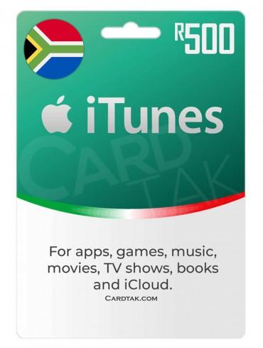 آیتونز 500 راند آفریقای جنوبی (ZA)