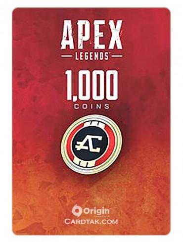 گیفت کارت اپکس لجندز 1000 کوین اوریجین