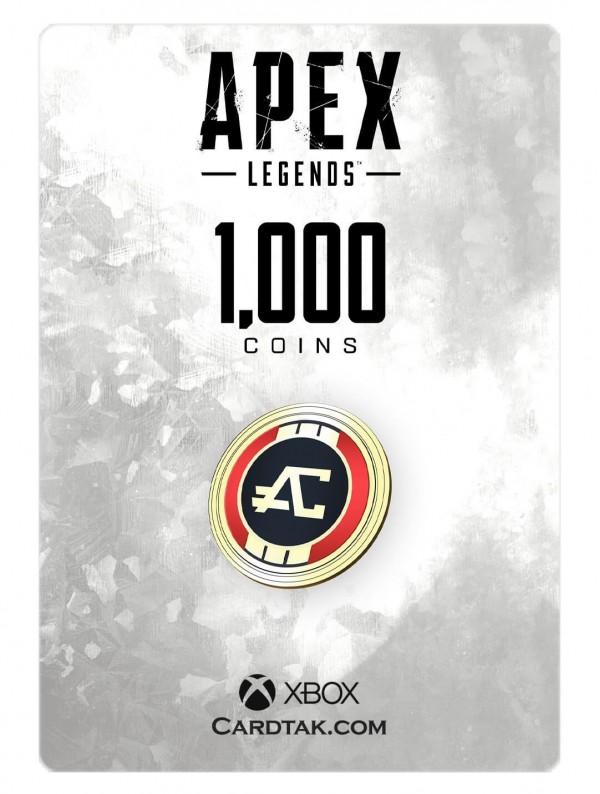 گیفت کارت اپکس لجندز 1000 کوین ایکسباکس