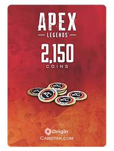 گیفت کارت اپکس لجندز 2150 کوین اوریجین