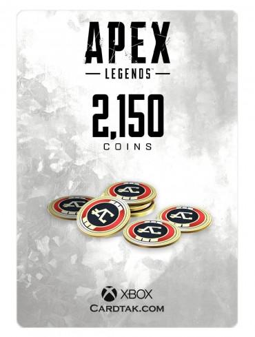 گیفت کارت اپکس لجندز 2150 کوین ایکسباکس