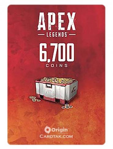 گیفت کارت اپکس لجندز 6700 کوین اوریجین