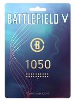 گیفت کارت 1050 سکه Battlefield V - اوریجین