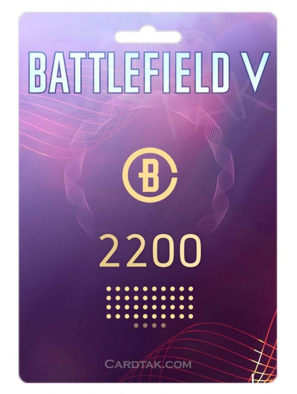 گیفت کارت 2200 سکه Battlefield V - اوریجین