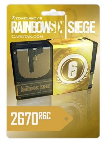 Rainbow Six Siege 2670 Credits - Steam