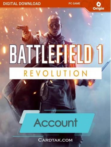 اکانت بازی اورجینال Battlefield 1 Premium + گارانتی