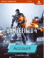 اکانت بازی اورجینال Battlefield 4 + گارانتی