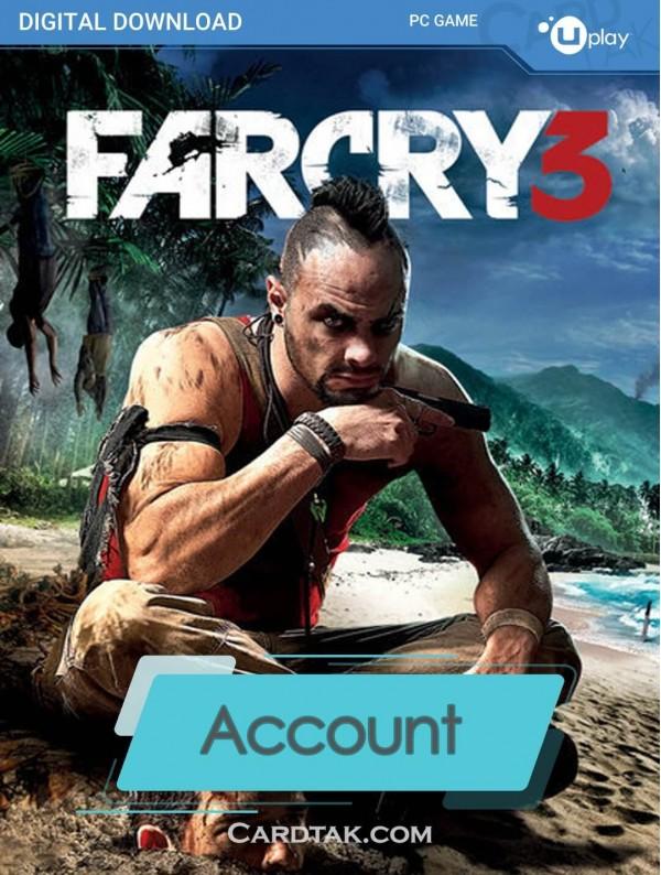 اکانت بازی اورجینال Far Cry 3 + گارانتی