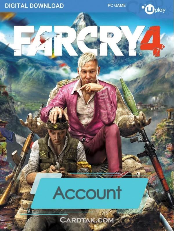 اکانت بازی اورجینال Far Cry 4 + گارانتی