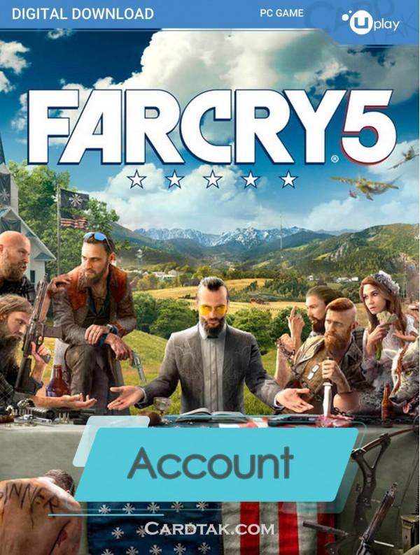 اکانت بازی اورجینال Far Cry 5 + گارانتی