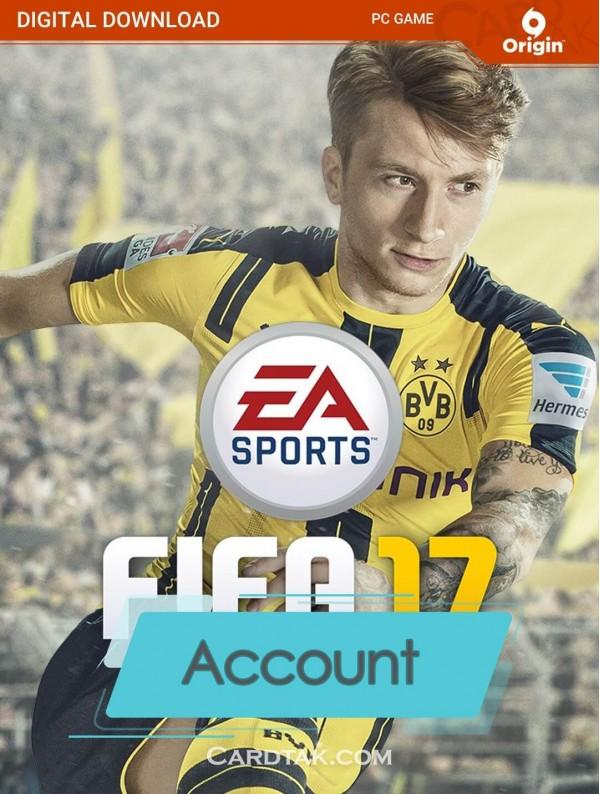 اکانت بازی اورجینال FIFA 17 + گارانتی