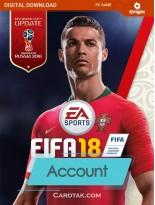 اکانت بازی اورجینال FIFA 18 + گارانتی