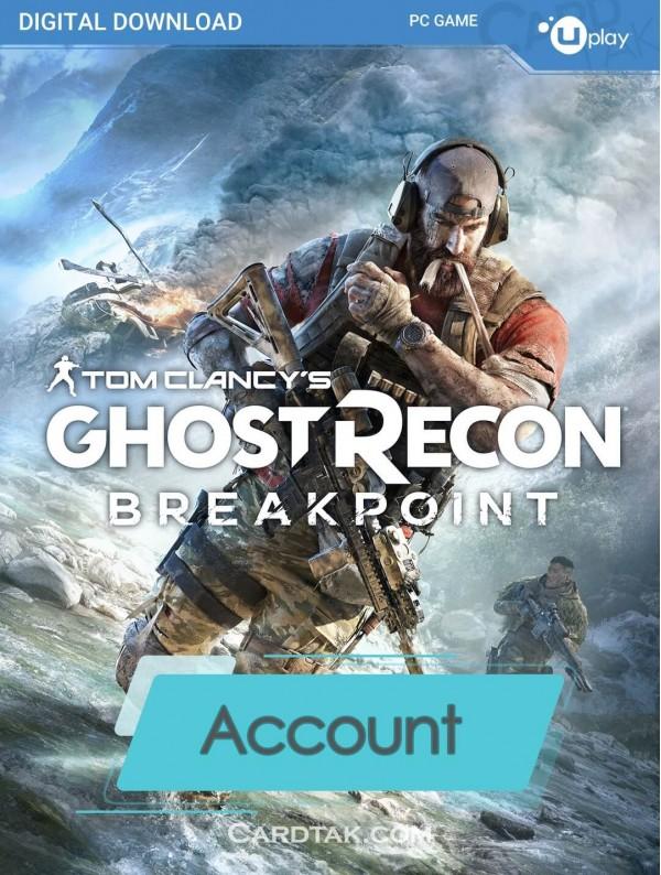 اکانت بازی اورجینال Tom Clancy's Ghost Recon Breakpoint + گارانتی