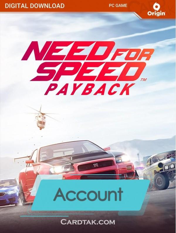اکانت بازی اورجینال Need for Speed Payback + گارانتی