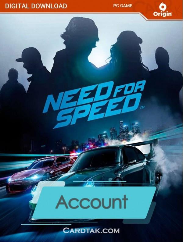 اکانت بازی اورجینال Need for Speed 2016 + گارانتی