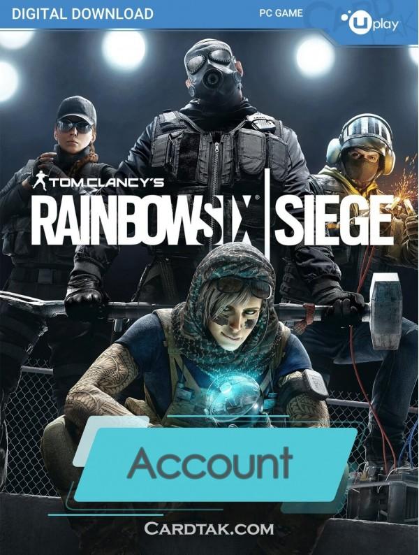 اکانت بازی اورجینال Tom Clancy's Rainbow Six Siege + گارانتی