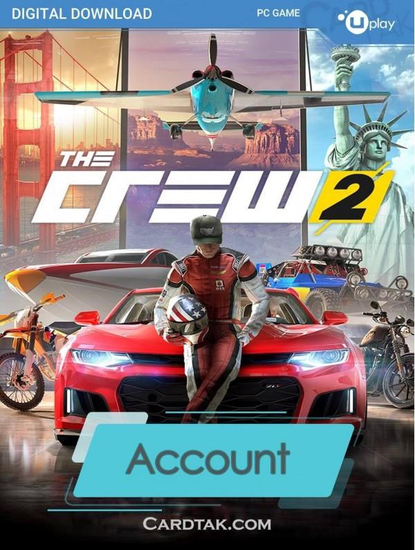 اکانت بازی اورجینال The Crew 2 + گارانتی