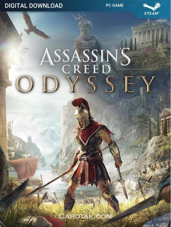 سی دی کی بازی Assassin's Creed Odyssey