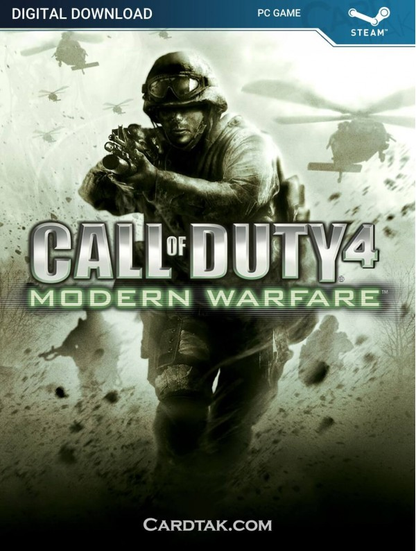 سی دی کی بازی Call of Duty 4 Modern Warfare