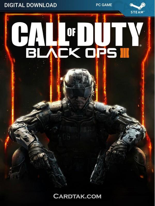 سی دی کی بازی Call of Duty Black Ops 3