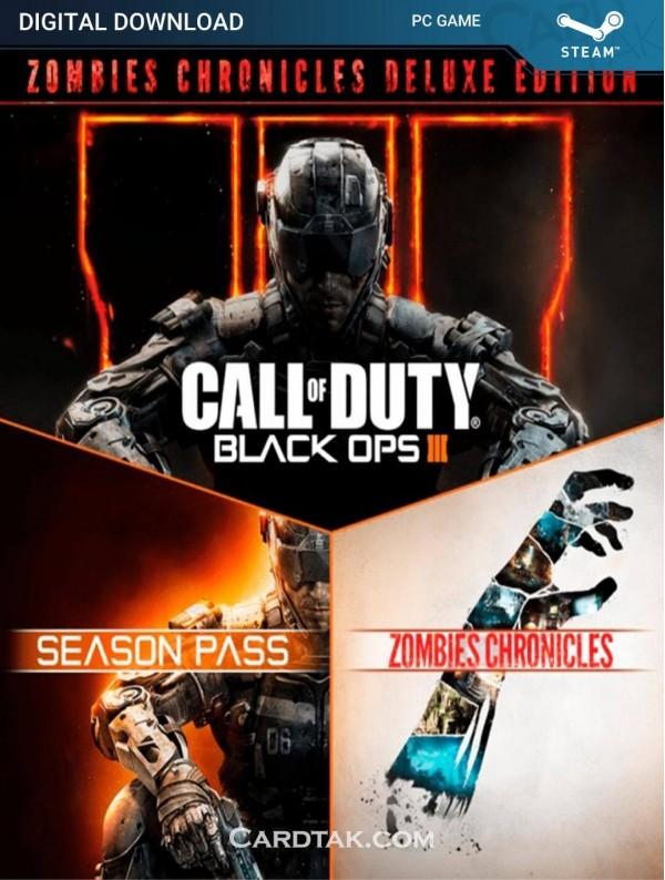 سی دی کی بازی Call of Duty Black Ops 3 Zombies Deluxe