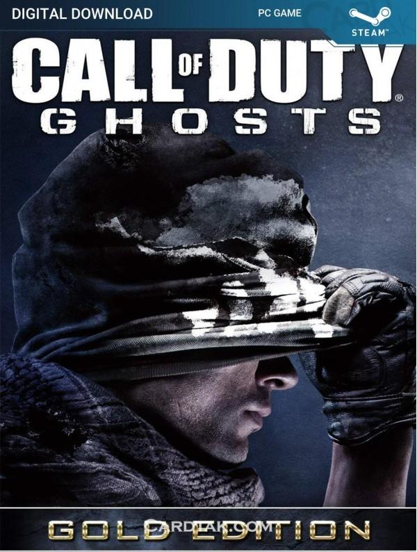 سی دی کی بازی Call of Duty Ghosts Gold Edition