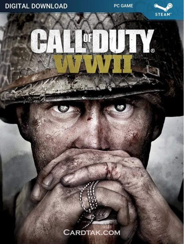 سی دی کی بازی Call of Duty WW2
