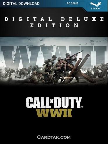 Call of Duty WW2 Digital Deluxe (Steam)