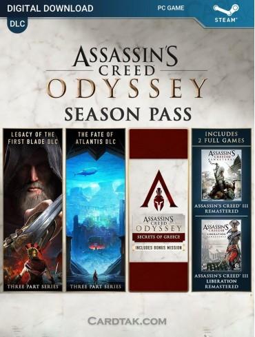 Assassin's Creed Odyssey Season Pass (Steam)