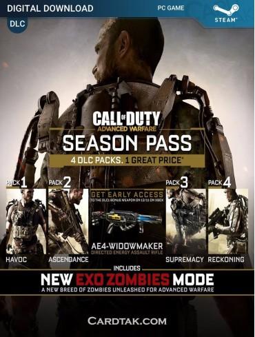 Call of Duty Advanced Warfare Season Pass (Steam)