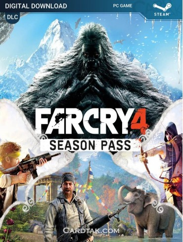 Far Cry 4 Season Pass (Steam)