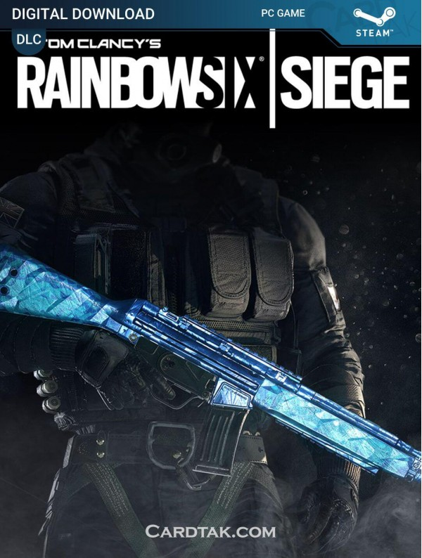 Rainbow Six Siege Cobalt Weapon Skin (Region Free)