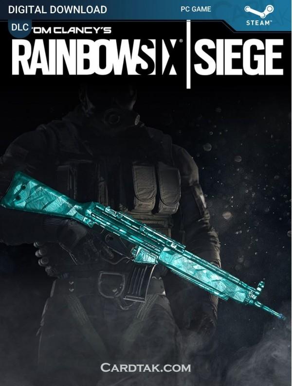 Tom Clancy's Rainbow Six Siege Cyan Weapon Skin (Steam)